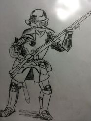 Musket Knight by harryleung200411