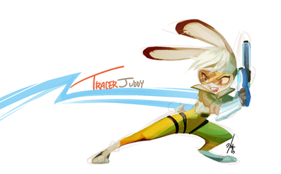 Tracer Juddy by Ganym0