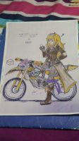 RWBY(Yang Xiao Long)xEX-AID(Lazer)full colored by MRNEWMIND2007