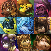 FA Icon Commissions 2 by Omegaro