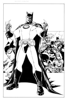 Batman Inc inks by MarkStegbauer