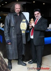 The Undertaker and Paul Bearer by MLBlue