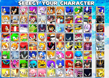 Sonic Character Select (old) by Nibroc-Rock