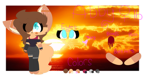 Abby's oc reference sheet by Savagelucy0506