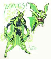 Young Mantis sketch by LucianoVecchio