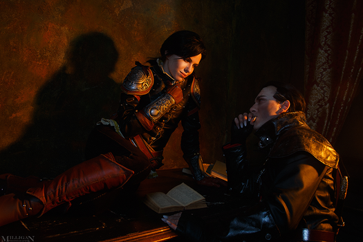 Syanna, Dettlaff - Witcher 3 by TophWei