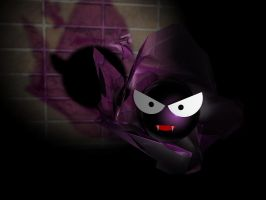 Gastly 3D