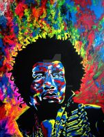 Jimi Hendrix by MikeSound
