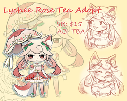 Lychee Rose Tea Auction (closed, ty!) by thewrabbithole