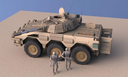 Badger AFV (I) by Quesocito