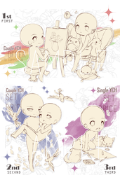 [CLOSED TY] 2nd season-Limited Chibi YCH! by Skunkyfly