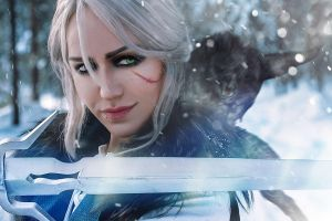 Ciri. The Skellige. Cosplay by Akarana