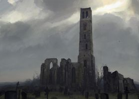 Desolated church by merl1ncz