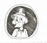 .:Scoorge McDuck:. Inktober 2015 Day 22 by N-Lilix