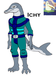 Dinosaucer: Ichy by HewyToonmore