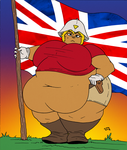 Claim this land in the name of fat! by CleverFoxMan