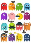 Pacman and Co. by maryannasaurr