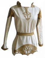 High Elven Leather Tunic by Indirie