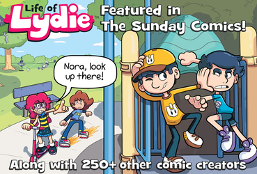 Life of Lydie featured in The Sunday Comics! by GeorgeRottkamp