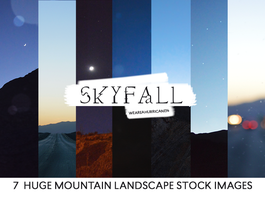 Skyfall: Mountain Stock Texture Pack by WeAreAHurricane14