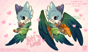 Personal Kamishiba: Tuti's Love by Mad-Izoku