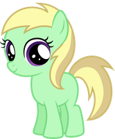Apple Mint smiling by thatguy1945