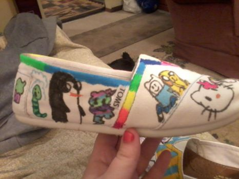 Other side of Tom's shoe by RenateRainbow53009