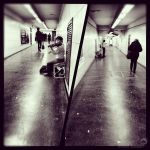Couloir de metro et classical music by winona-adamon