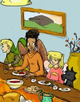 A Real Thanksgiving by Sallyrah