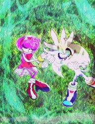 Silver and Amy My love is with me nothing can sepa by Darkramiess