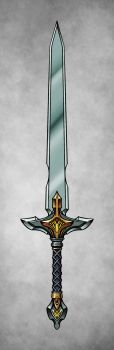 Sword Concept - Color by RahByte