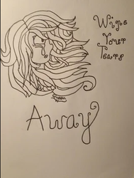 Wipe Your Tears Away by QueenHerobrineGaming