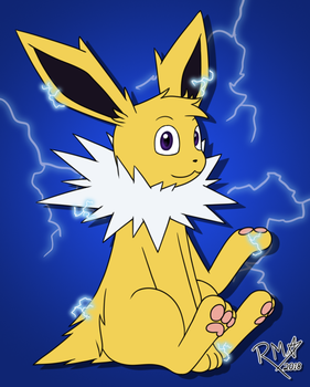 Request by Typh-r - Jolteon by Richy Miner by RichyMiner