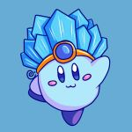 Ice Kirby by Eriniin