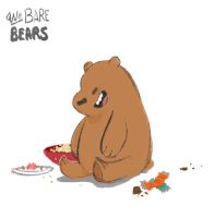 We Bare Bears: Grizz by Dream-Piper