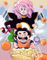 Steven Universe Dragon Ball Crossover by BaouZaker