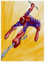 Spiderman by ANGElsilvestre