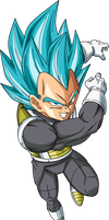 Vegeta Super Saiyan God Super Saiyan by Dark-Crawler