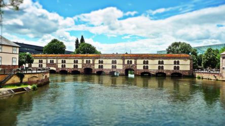 Strasbourg - Barrage Vauban by Paseas-Images