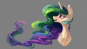 Celestia portrait by Plainoasis