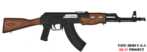 Tate Arm's AK-47 WIP by GeneralTate
