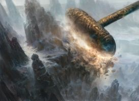 Fall of the Hammer by AdamPaquette