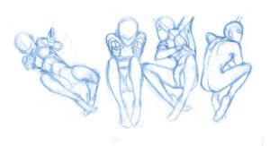 Pose Studies 7 - References from SenshiStock by BBstudies