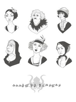 Call of Cthulhu - PNJ characters by Sybarico