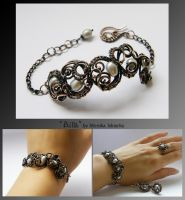 Ailla- wire wrapped bracelet by mea00