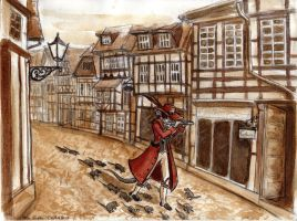 Pied Piper of Hamelin by Eleithel