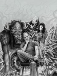 Me and my demons by HrvojeSilic