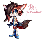 Rin The Maned Wolf
