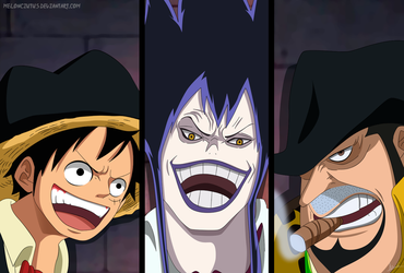 One Piece 859 - Luffy-Caesar-Capone by Melonciutus