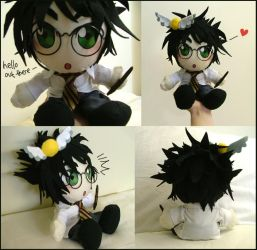 More Harry Potter Plushie by Kinky-chichi